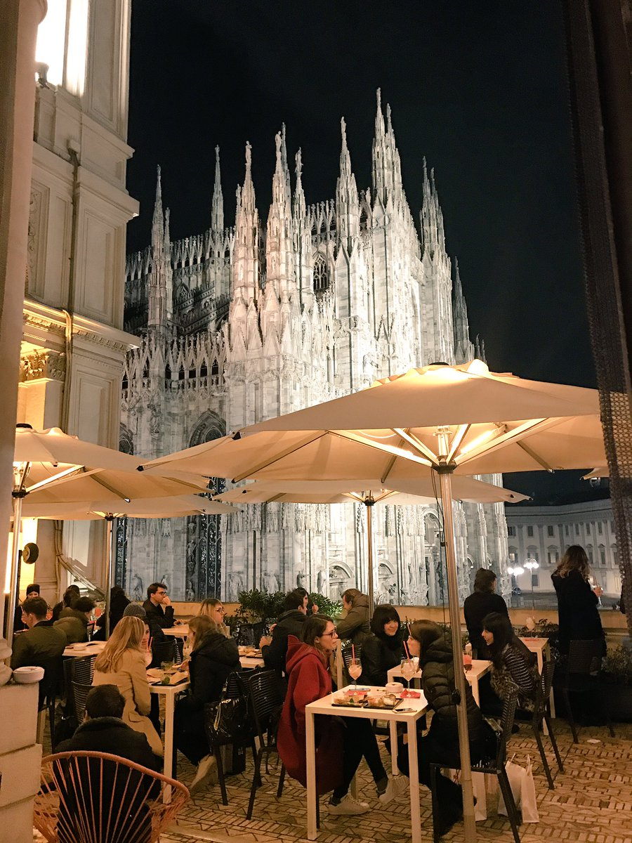 L Italo Americano On Twitter A Beautiful View Of The Duomo