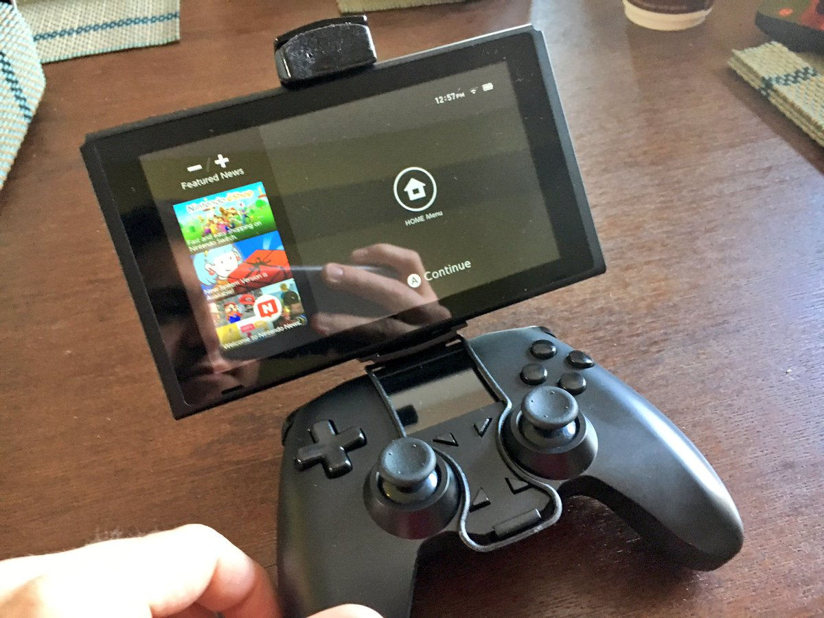 Shane Luis On Twitter Yup Our All Controller Mount Will Hold The 5 Way Switch Joystick Nintendo Just Tried It Now For First Time
