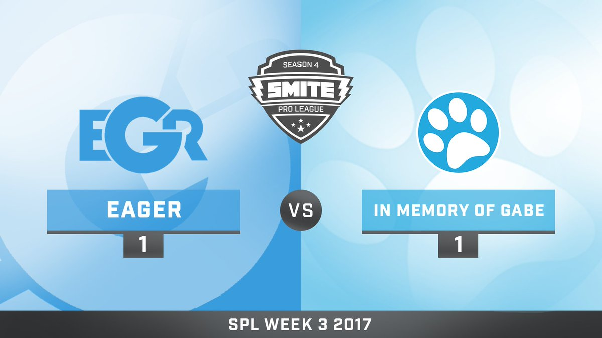 Team Eager vs In Memory of Gabe
