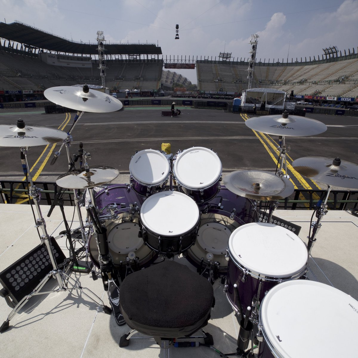 Metallica On Twitter Snake Kit Ready For The Final Show Here In Mexico MetInMexico Zildjian Worldwired