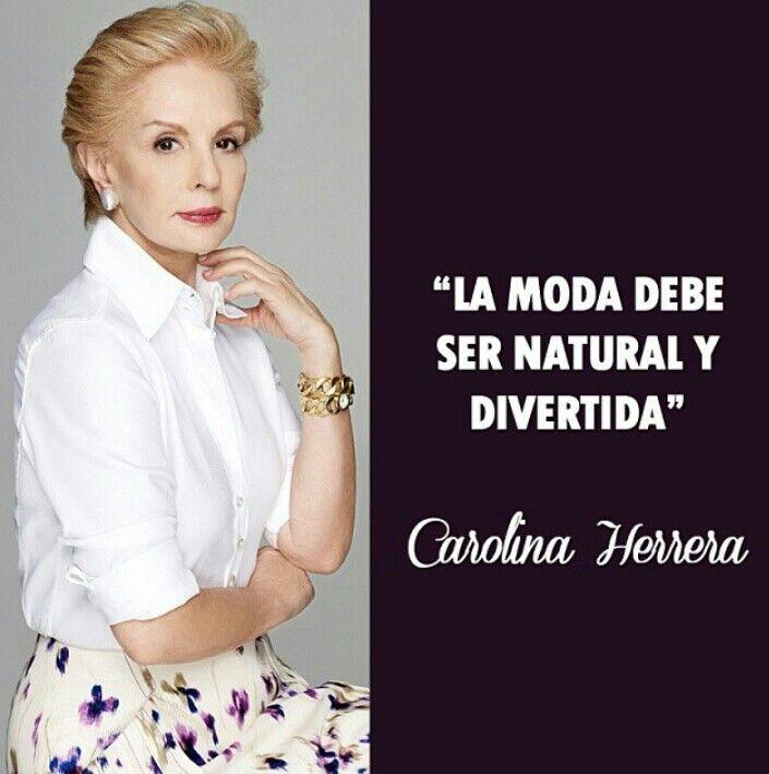 Daily Quotessayings On Twitter Carolina Herrera