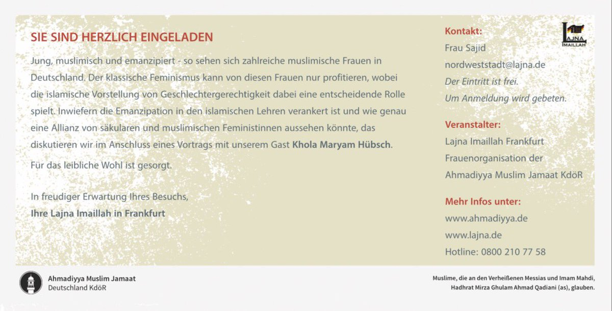 Khola Maryam Hübsch : Home