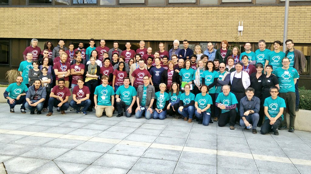 What a weekend! Tired after organising #OpenDataHack @ECMWF #hackathon Thanks #hackers #volunteers #judges & all who helped @CopernicusECMWF https://t.co/7nSWLpNx2T