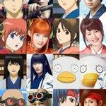 銀魂のアニメのキャラと映画のキャストの比較がこれ!