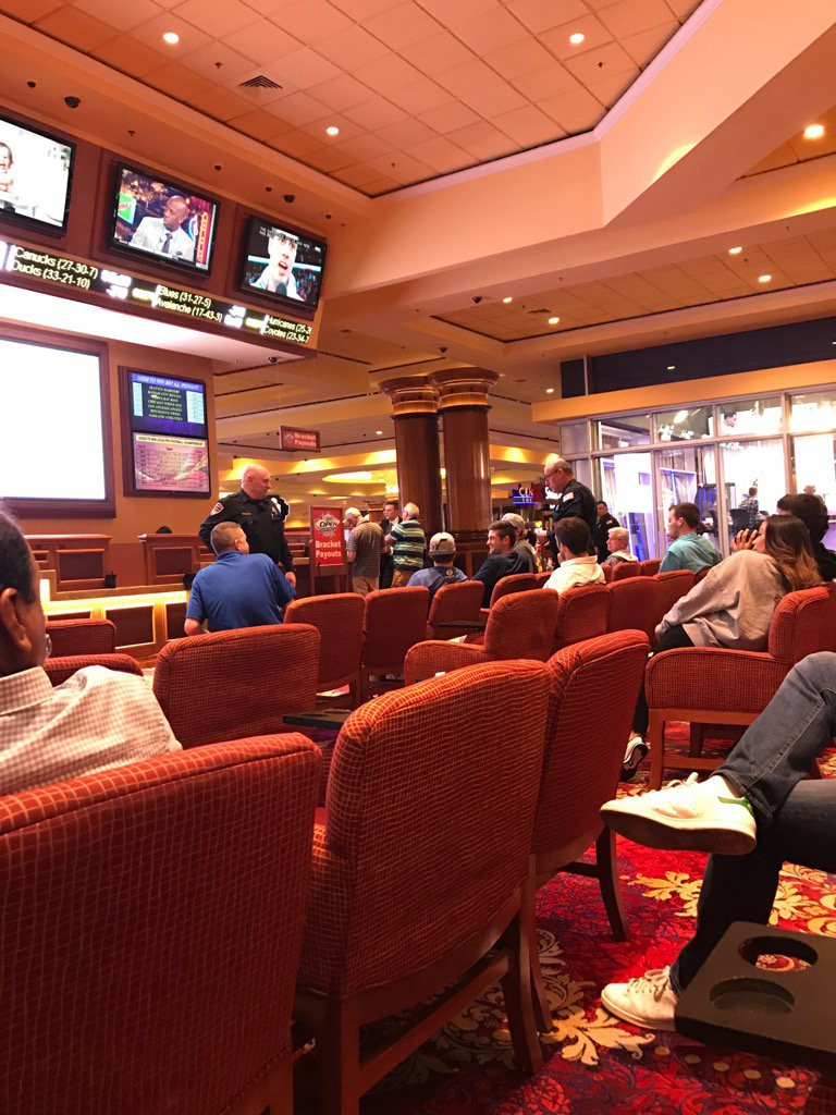 BYU guys watching Jazz game in sportsbook. Cops come, ID every one. Every one is 21 or older. Cops in disbelief. https://t.co/ASSYfMAz98