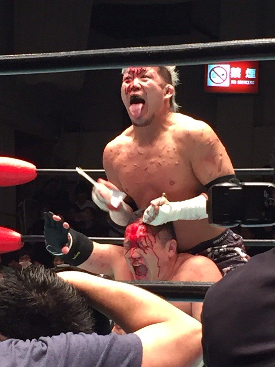 """BJW: Resultados """"Ikkitousen - Death match Survivor"""" 05/03/2017 - Inicia la sangrienta batalla por la supremacía; Daisuke Sekimoto retiene su cinturón 4"""