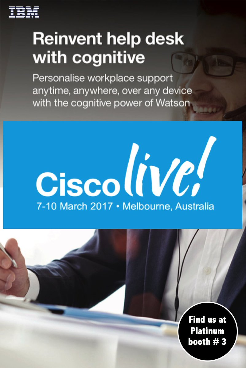 Ross Arriola Ibm On Twitter Visit At Clmel To See How Your Helpdesk Can Deliver A Personalised Experience Ed By Ibmwatson Ibmmobile