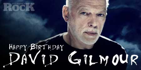 Remessageed Classic Rock ( Happy Birthday to David Gilmour: 71 today!