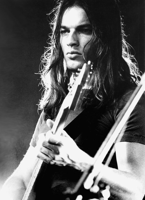 Happy Birthday David Gilmour who is 71 today
