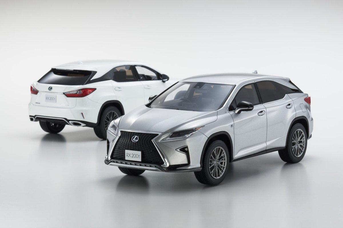 Samurai 1//18 Lexus RX 200t F Sports White New