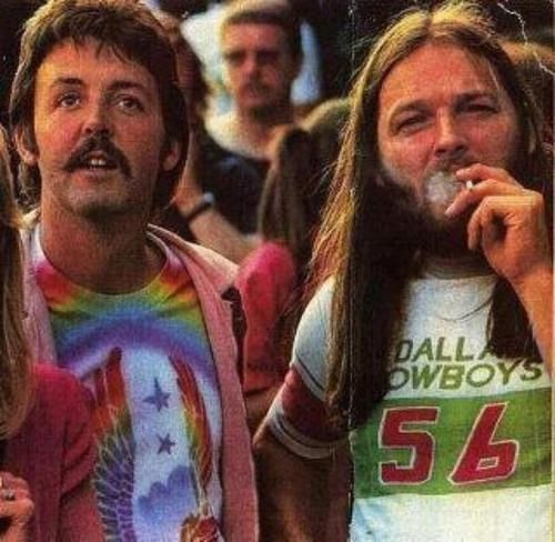 """Dei \""""Tutto quel che so della musica l ho imparato da loro. - David Gilmour\"""" Happy Birthday"""