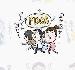 8cb0d6d2be 情報処理学会の公式スタンプ、クラスタじゃなくてもグッとくるものがある。PDCAかわいい/#include <情報系技術者の日常.h> - クリエイターズ スタンプ ...