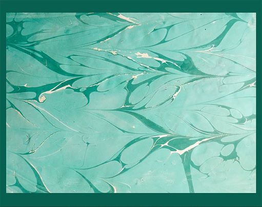 Happy #MarbledMonday today with #aigüesverdes #marbledpaper #marbling #handmade #bookbinding #aguasverdes #papelpintado #diy<br>http://pic.twitter.com/mnZQUFOeBE