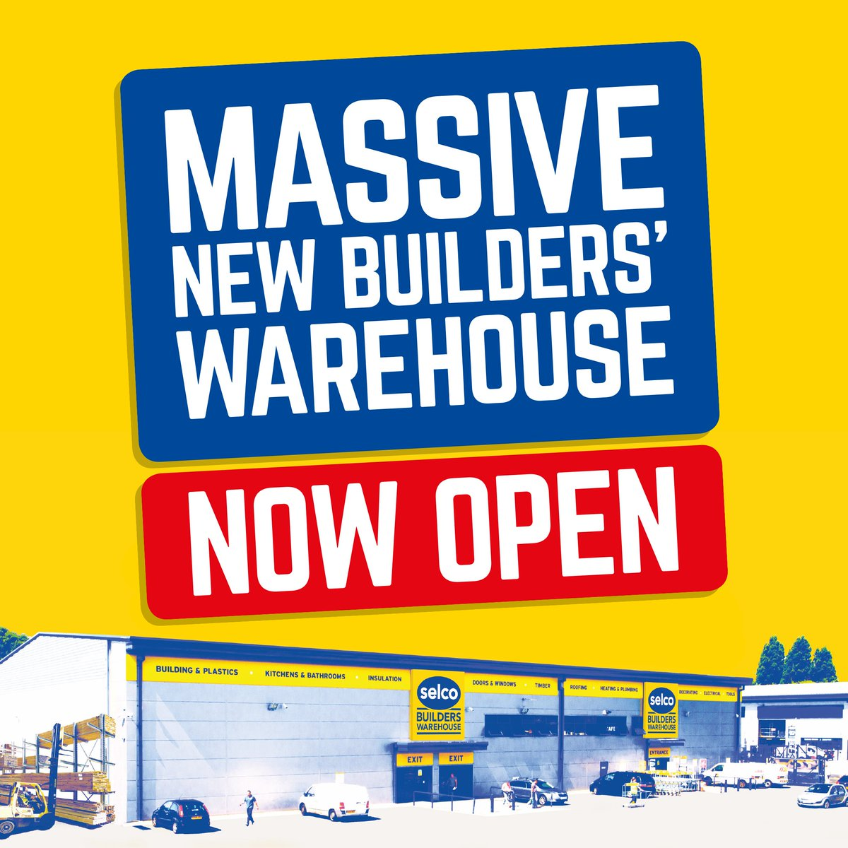 Delighted to say the doors are now open on our 48th branch in the UK this time in Beckton. You can find us at Beckton Retail Park (E6 6LA)pic.twitter.com/ ...  sc 1 st  Twitter & Selco Builders Warehouse on Twitter: \