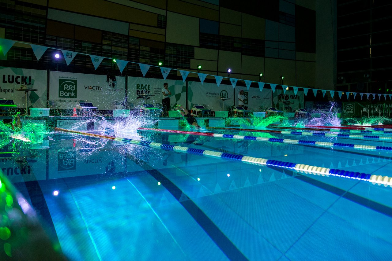 Über 700 Schwimmer aus sieben Nationen gingen am Wochenende bei den Swim Race Days an den Start 🏊 ▶️https://t.co/ep9traBx3V https://t.co/YJnYA1Z21t