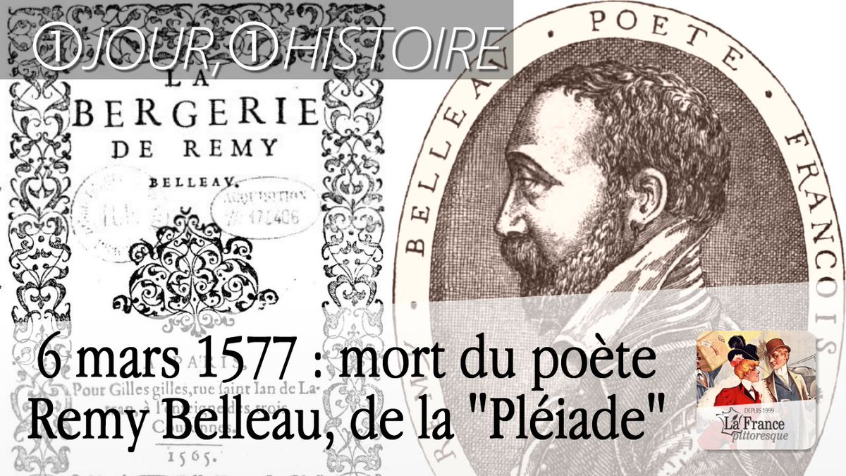 France Pittoresque On Twitter 6mars 1577 Mort De Remy