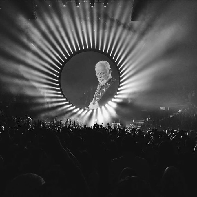Wishing a happy birthday to the greatest and best guitarist in the history of guitars: David Gilmour.