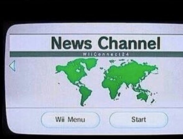unlike yall i get my news from a reliable source