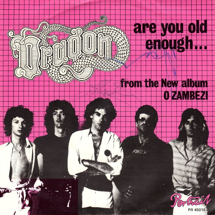 Dragon - Are You Old Enough Lyrics - YouTube