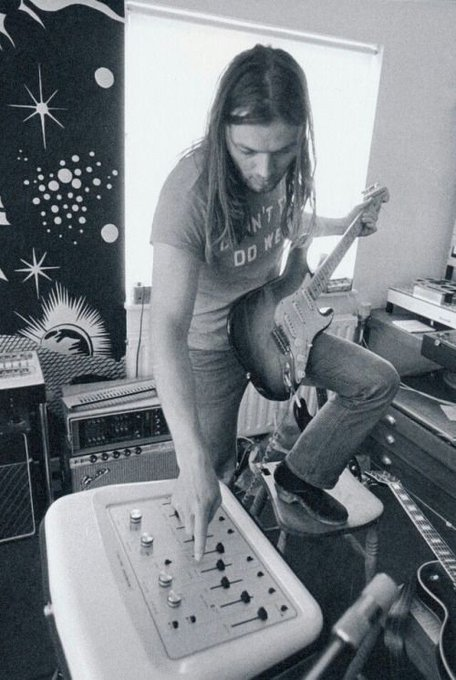 Happy birthday to David Gilmour. Photo from 1972.