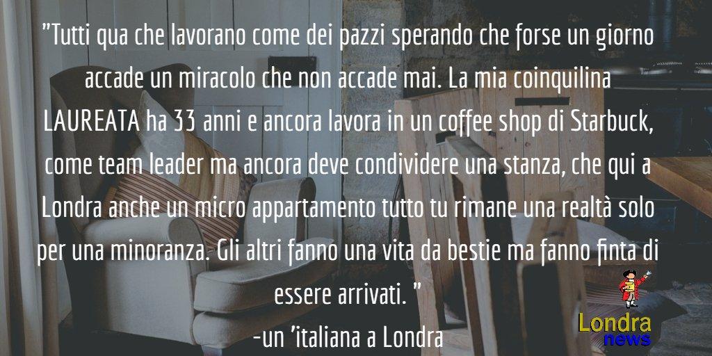 """""""99,9% degli italiani fanno lavoracci a Londra"""" https://t.co/QbuvGn34nU #londra"""