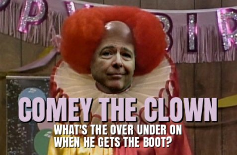 Comey clown show turns into I hate the Patriots VIDEO