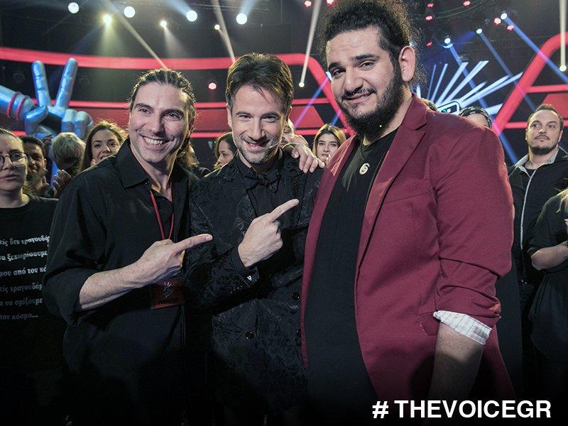 Ομάδα που κερδίζει... δεν την αλλάζεις! Well Done Guys! #TheVoiceGR  #...