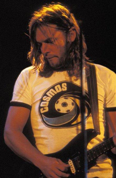 Happy birthday to David Gilmour of