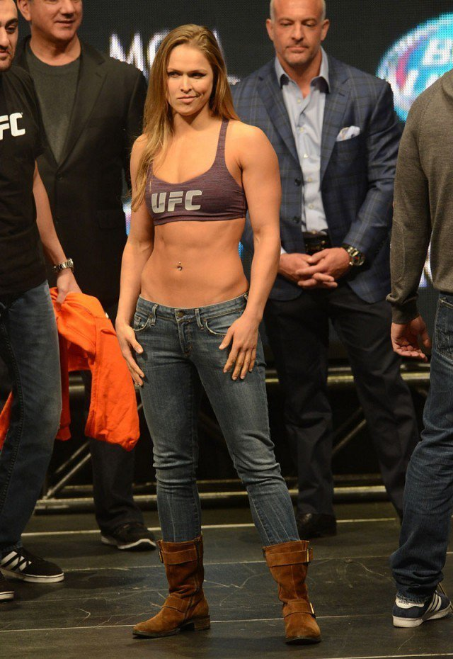 &quot;Still my best MMA Superstar Fighter #Ronda #Rousey (). <br>http://pic.twitter.com/7p0I68QA0l
