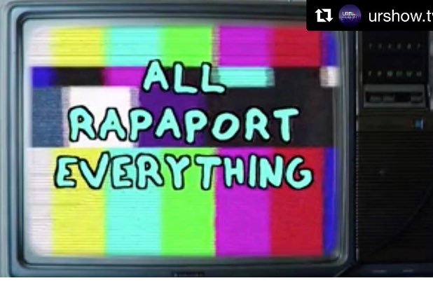 Go to @URshowtv to watch @MichaelRapaport All Rapaport  everything! ht...