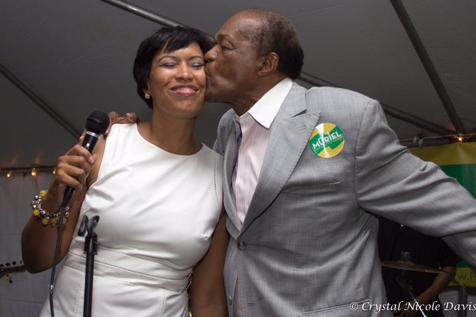 Happy birthday to Washington, DC\s Mayor for Life, Marion Barry.