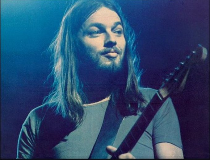 Happy Birthday David Gilmour. One of the reasons I enjoy Pink Floyd so much. He truly is a guitar God