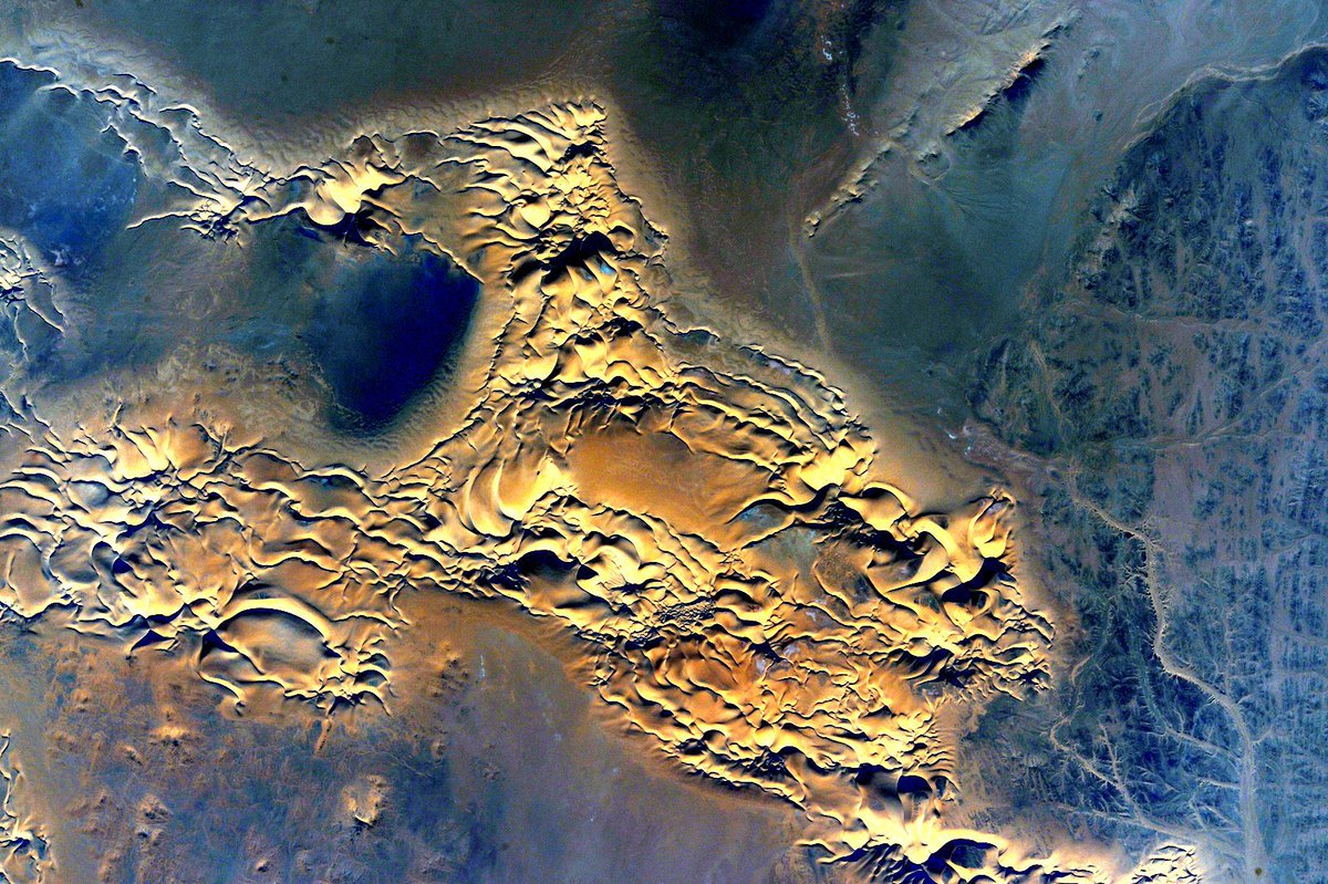 #MondayMotivation #EarthArt from my #YearInSpace archives. Here's to a...