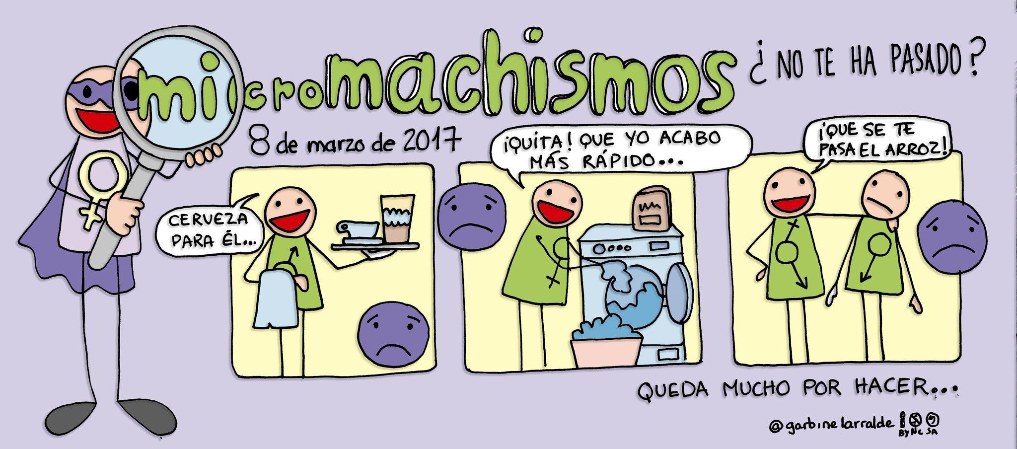 Hagamos visibles los #micromachismos #8marzo #YoEducoEnIgualdad #dibujamelas https://t.co/42W3NIOGd9