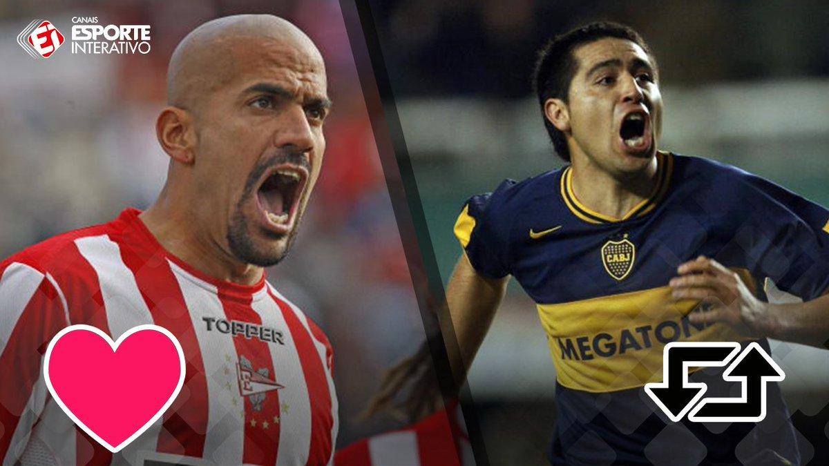 Os dois são craques, mas quem você prefere: Verón ou Riquelme?
