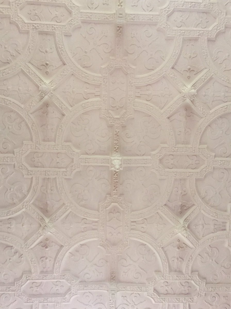 Who's admired our original strap work ceiling in the Grand Salon? 😍 #jacobean