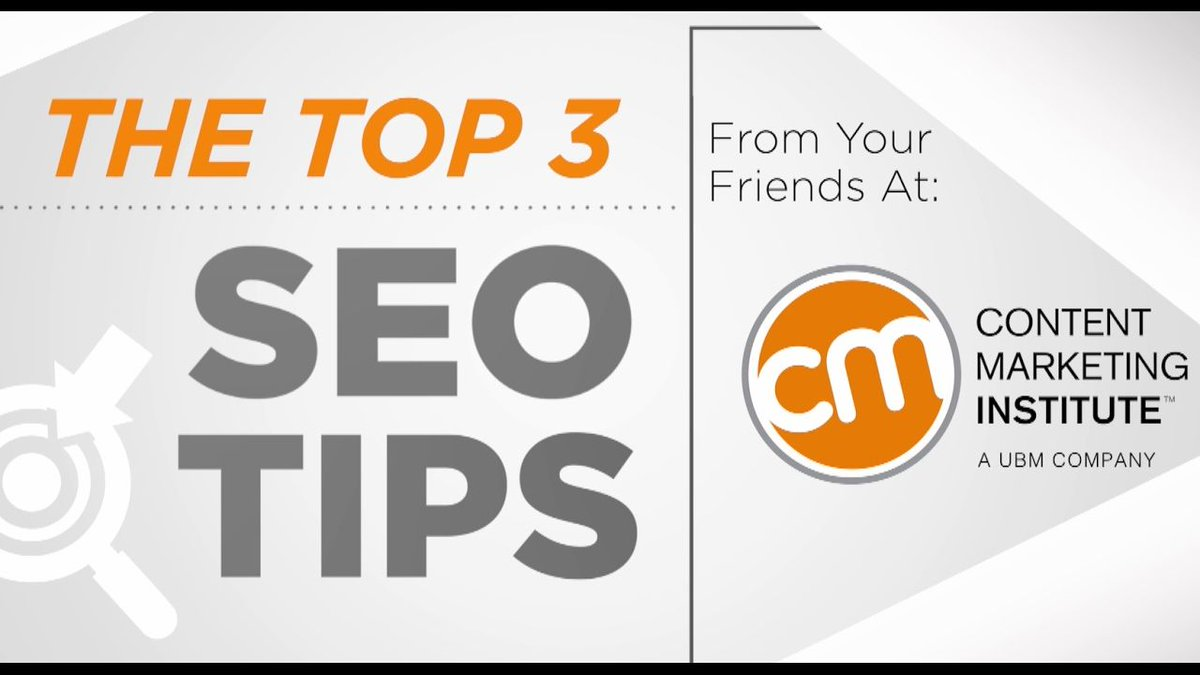 Top #SEO Tips for 2017  https://t.co/1aJyaPGcYh Super concise VIDEO via @CMIContent https://t.co/QJdKWvda8C
