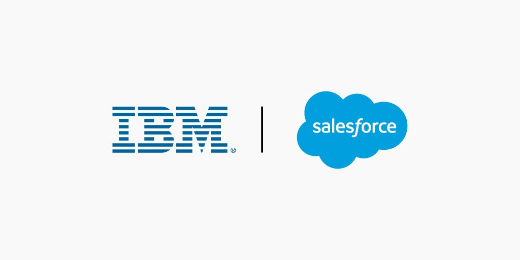 IBM and @salesforce announce landmark global strategic partnership. Get the details: https://t.co/Vc7PItLWcs https://t.co/sn4Dt7E6nc