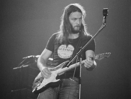 Happy 71st Birthday, David Gilmour! Check Joel out at 3:26 for a little action:
