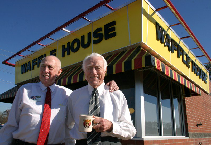 #BREAKING: Waffle House co-founder Joe Rogers Sr. dead at 97  https://t.co/p4OYS9Z31m https://t.co/eYYnRrOhRs