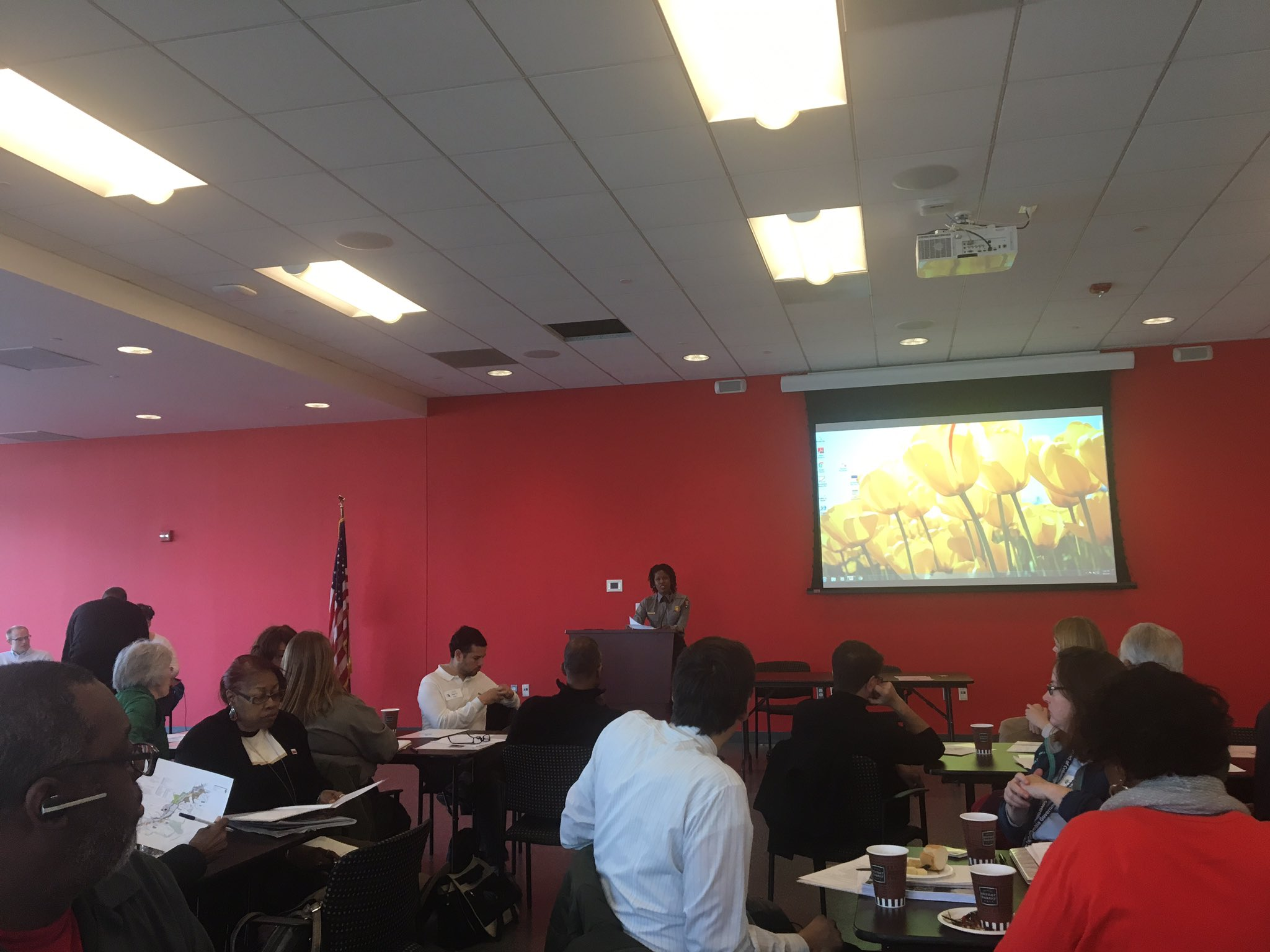 @AnacostiaNPS #shapeanacostiapark with NPS Tara Morrison highlighting strategic #collaboration #inclusion #restoration #youthengagement https://t.co/cY8TFvZtvC