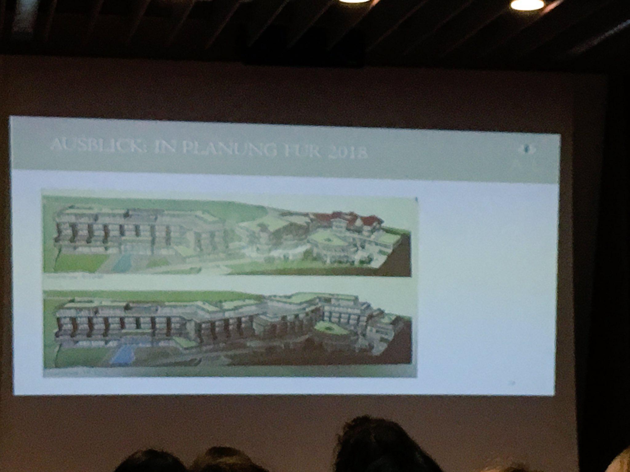 #TMCbz Für 2018 geplant: weg von den Türmchen, architektonisch neue Wege im Design. https://t.co/L39X6gDC1Q