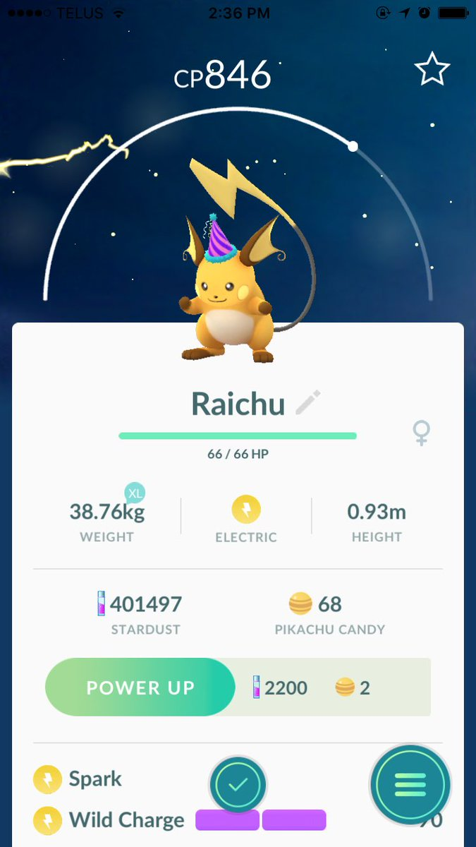 pokemon go toronto on twitter gender differences in pikachu raichu appear to be all in the. Black Bedroom Furniture Sets. Home Design Ideas