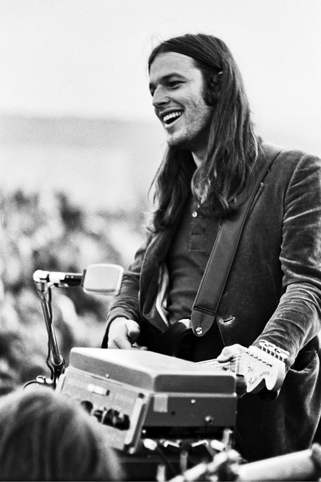 Happy birthday to the greatest guitar player ever, David gilmour. Aka dad
