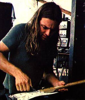 Happy birthday to David Gilmour from