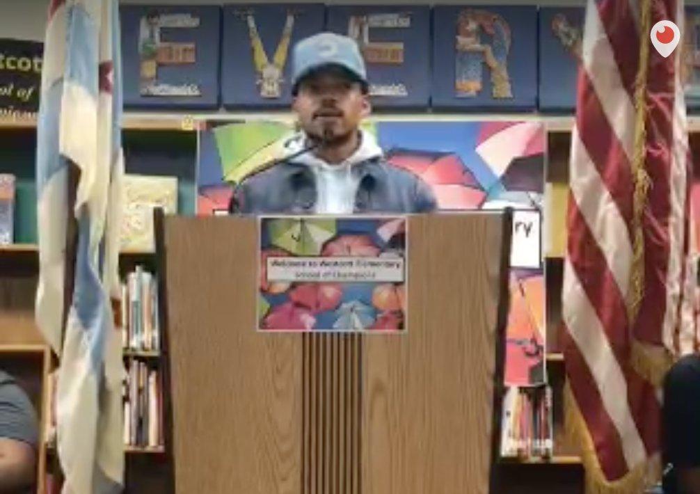 ". @chancetherapper donating $1 million to Chicago Public Schools foundation; tells Gov. Rauner to ""do your job."" https://t.co/SvEGOja2UM"