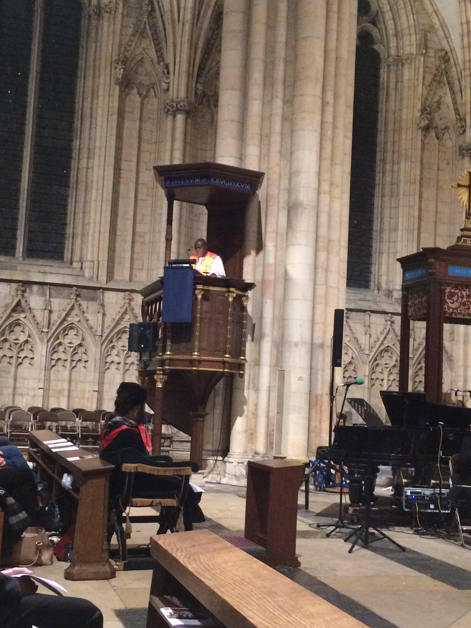 The Archbishop of York @JohnSentamu 'Church schools offering hope' #ManorMoments https://t.co/71ScgzRJB3