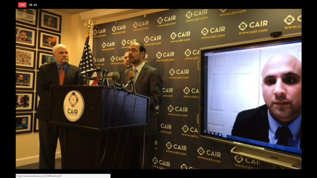 .@CAIRNational says new #travelban makes America