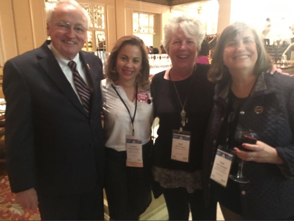 with USDA Under Secretary Kevin Concannon and NCA board members #hungerpc17 https://t.co/emJDrKiZ7U