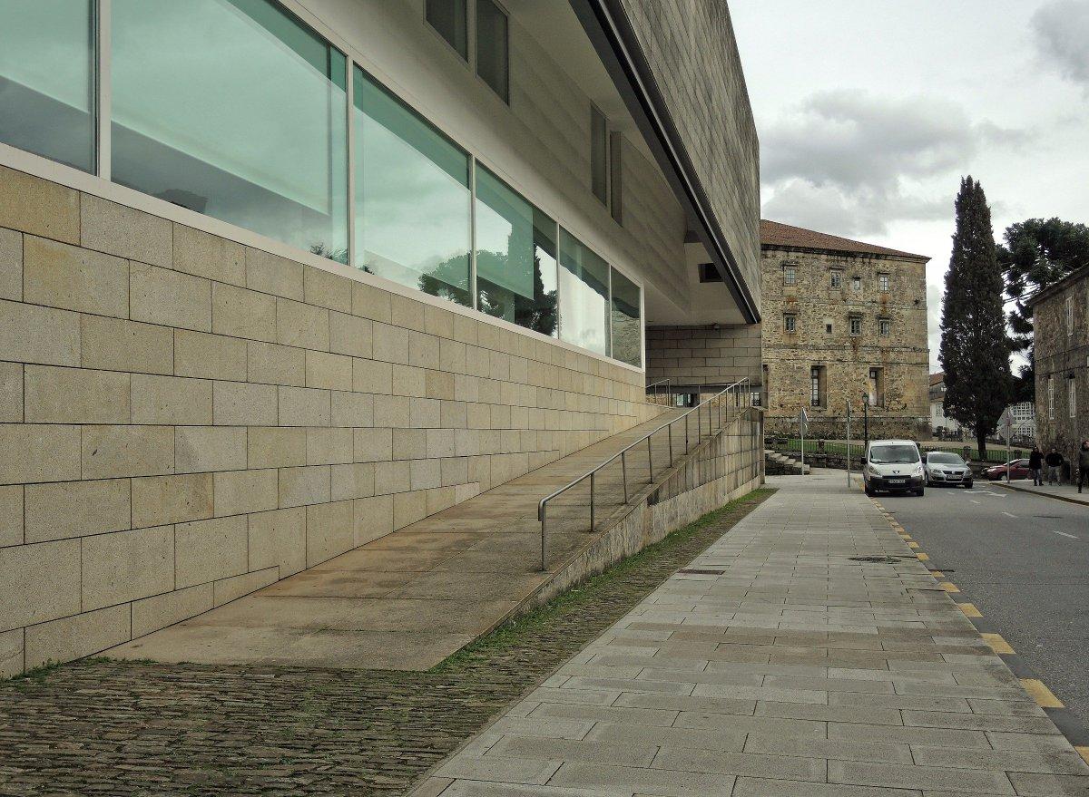 Arquitecturas on twitter centro gallego de arte contempor neo arquitecto alvaro siza v - Arquitectos santiago de compostela ...